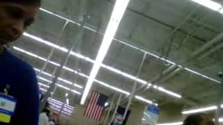 Walmart Cashier Freaks Out About Open Carry In Virginia