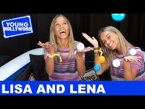 Musical.ly's Lisa and Lena Play The Sibling Challenge at VidCon!