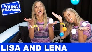 Musical.ly's Lisa and Lena Play The Sibling Challenge at VidCon!