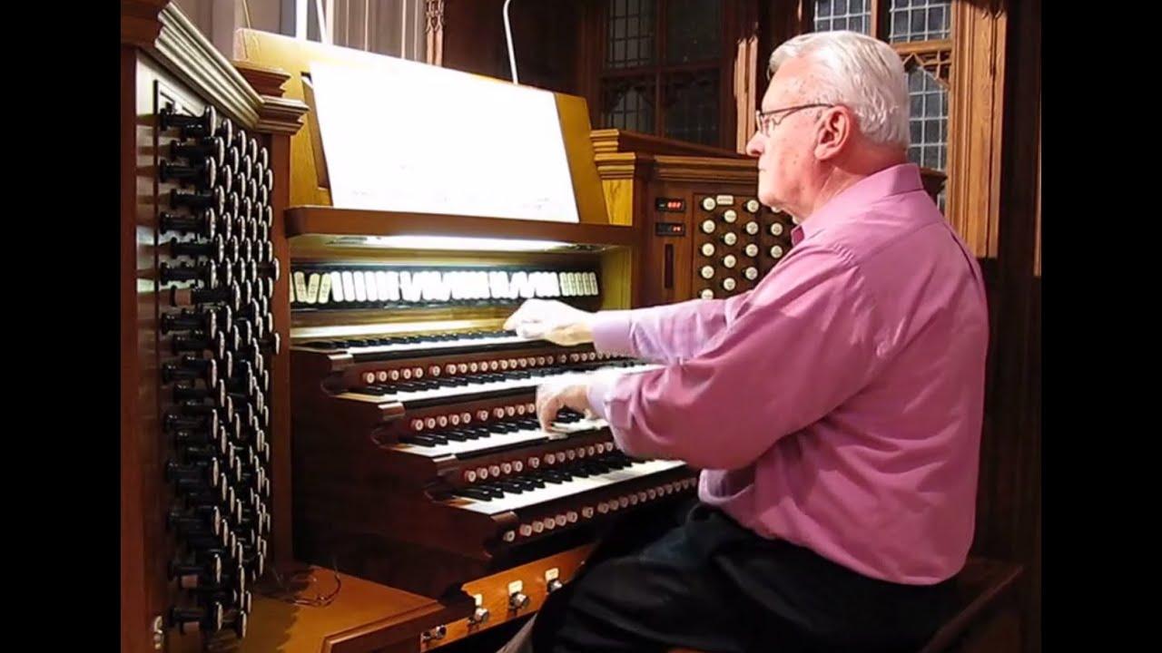 Amazing Aeolian-Skinner Organ Performance