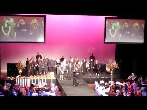 Miss Samoa New Zealand 2012 - Auckland Gospel Choir
