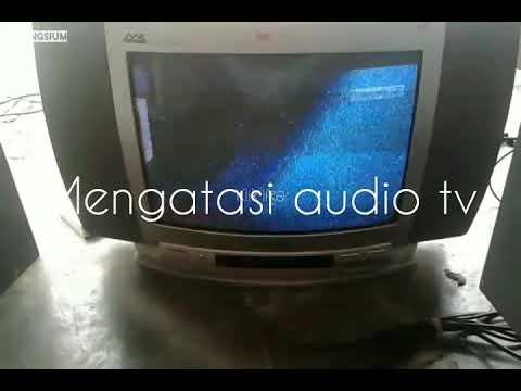 Mengatasi audio tv Polytron tidak keluar suaranya