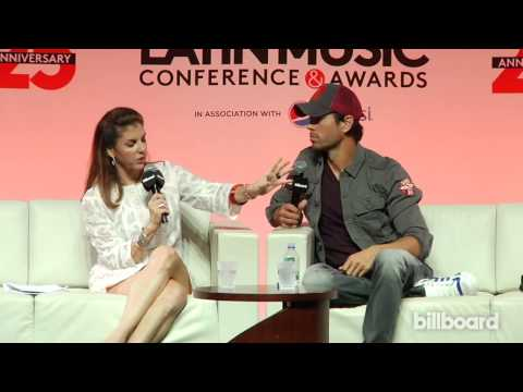Enrique Iglesias Superstar Q&A at Billboard Latin Music Conf. 2014