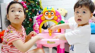 Boram finge ser um bebê por um dia com um bebê real 👶 Pretend to play nanny!!!