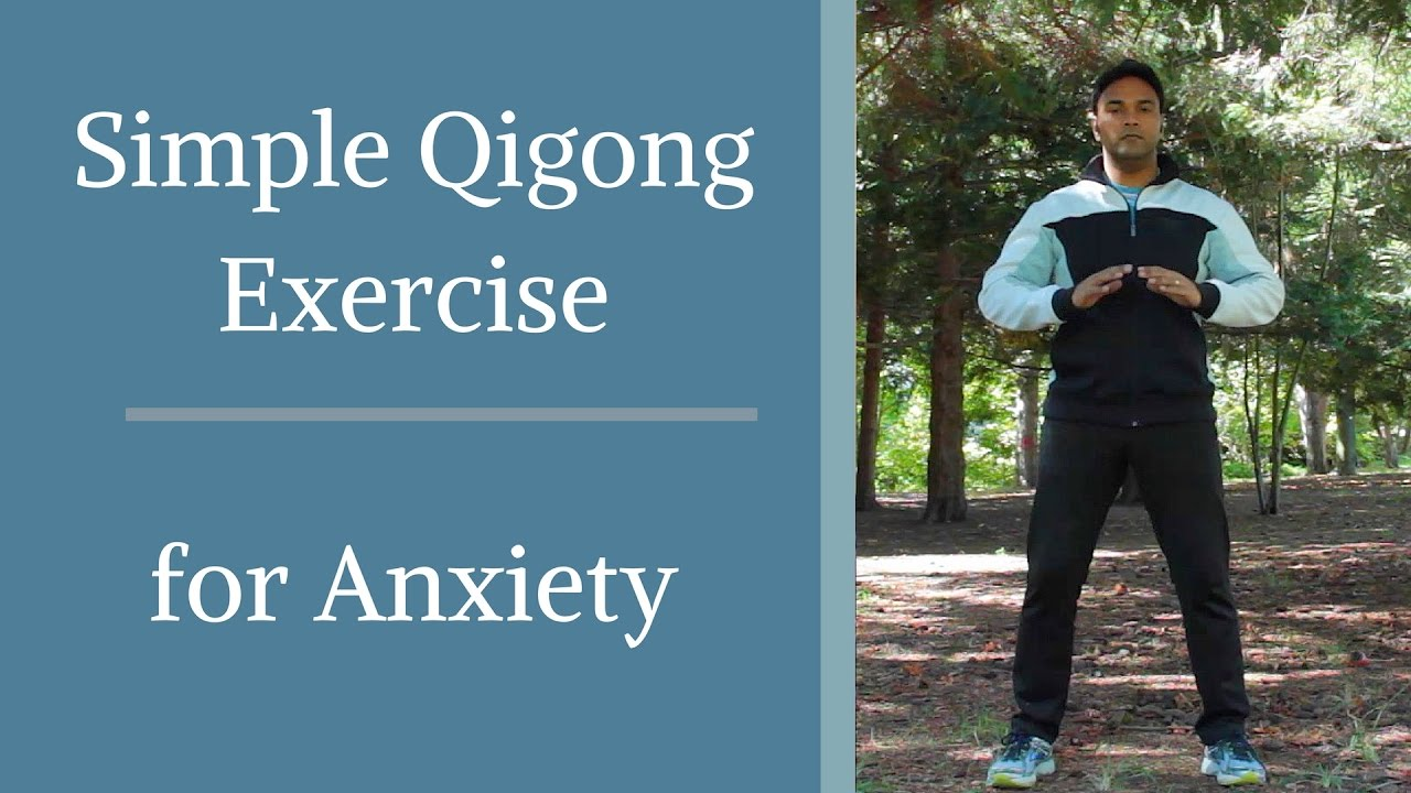 Simple Qigong Exercise for Anxiety with Jeffrey Chand -similar to Tai Chi