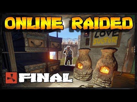 ONLINE RAIDED | Rust Raid Diary #11 - FINAL