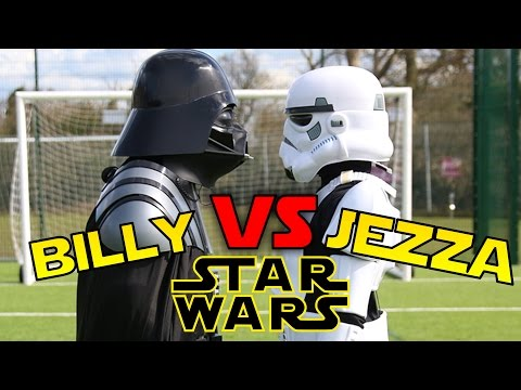 BILLY VS JEZZA | EPIC Star Wars BATTLE!