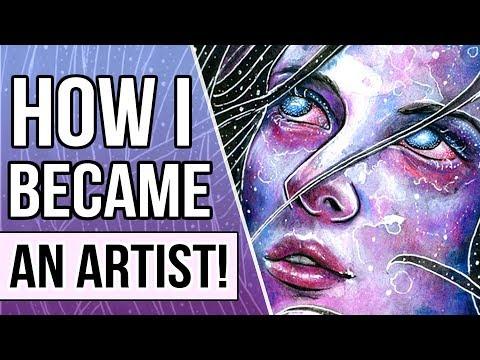 I QUIT UNIVERSITY TO BE AN ARTIST! How I Became a Full Time Artist | YTAC