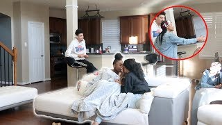 CAUGHT KISSING ANOTHER GIRL PRANK ON GIRLFRIEND!! FT. CIERRA AND JORDAN