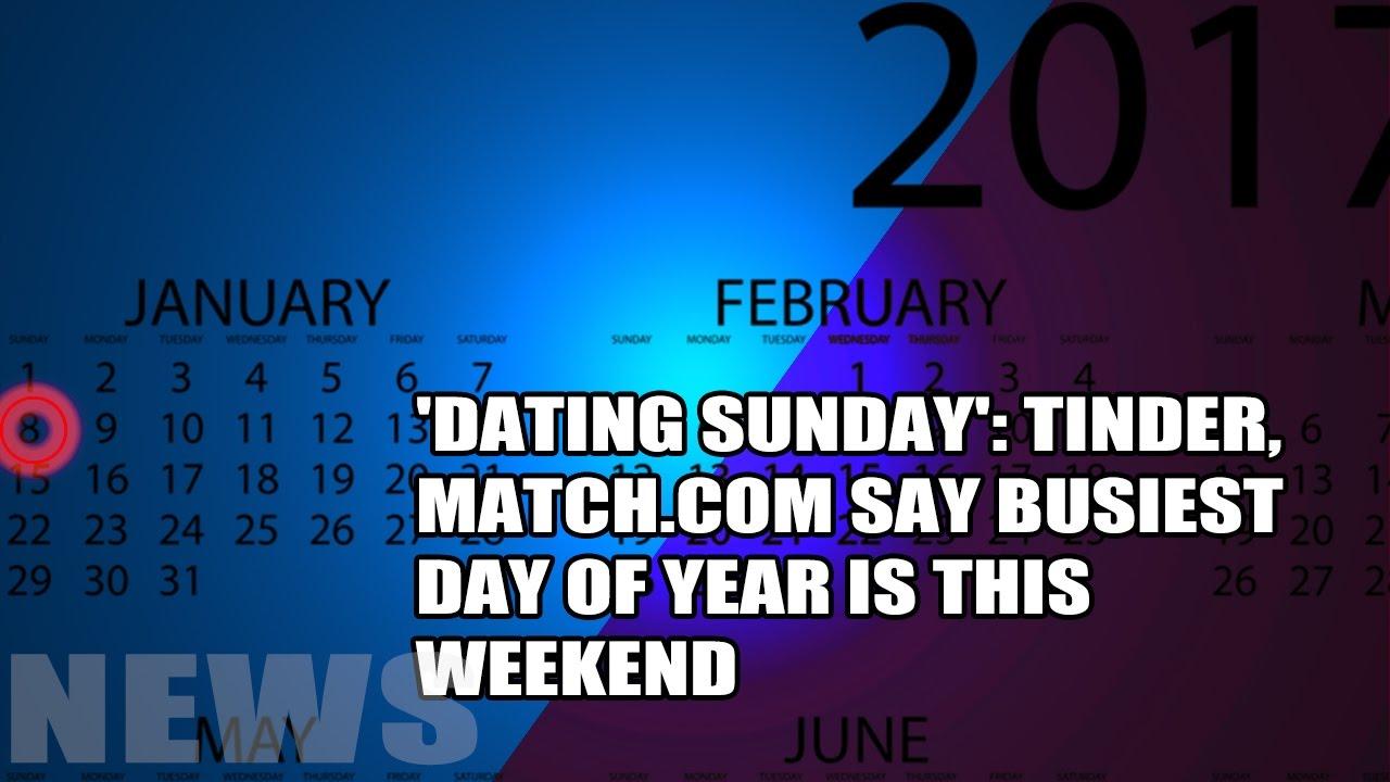 Match com dating sunday