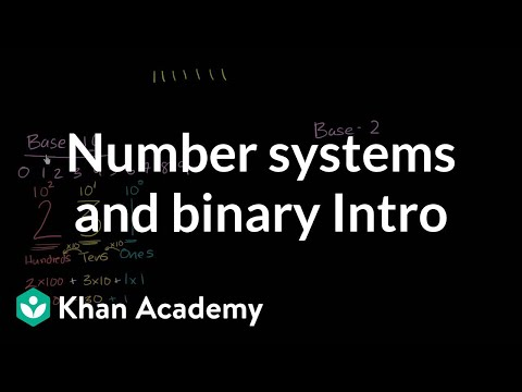 Introduction To Number Systems And Binary | Pre-Algebra | Khan Academy