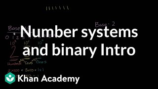 Video Introduction to number systems and binary | Pre-Algebra | Khan Academy download MP3, 3GP, MP4, WEBM, AVI, FLV Juli 2018