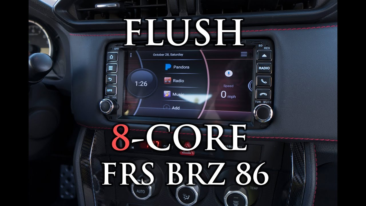 full install android headunit brz frs 86 [ 1280 x 720 Pixel ]