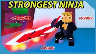 How To Be the Strongest Ninja in Roblox Ninja Wizard Simulator