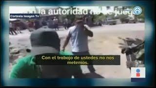 """""""¡Con la autoridad no se juega!""""; militares se defienden así de humillaciones de pobladores"""