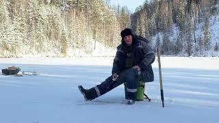 Рыбалка по первому тонкому льду ноябрь 2020
