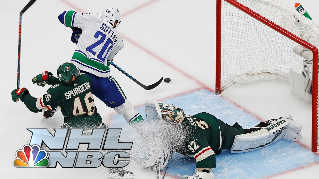 NHL Stanley Cup Qualifying Round: Canucks vs. Wild | Game 4 EXTENDED HIGHLIGHTS | NBC Sports