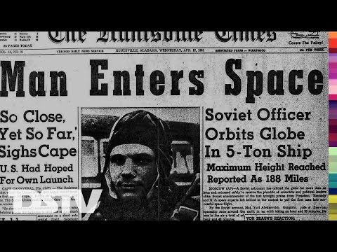 THE FIRST MAN IN SPACE