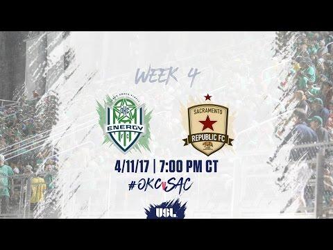 USL LIVE - OKC Energy FC vs Sacramento Republic FC 4/11/17