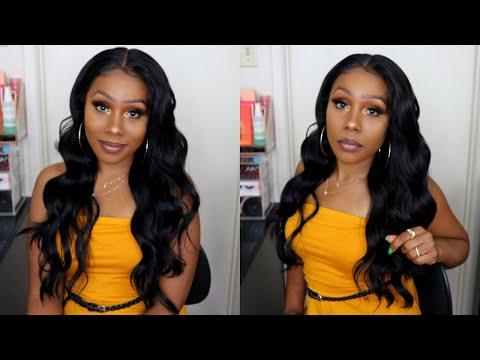 **NEW** Versatile Wig UNDER $40 Style + Cross Part Lace Wig BODY Ft. SamsBeauty.com