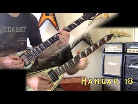 Megadeth - Hangar 18 Guitar Cover (No Backing Track)