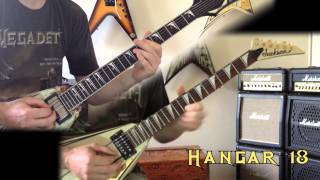 Megadeth - Hangar 18 Guitar Cover (No Backing Track)