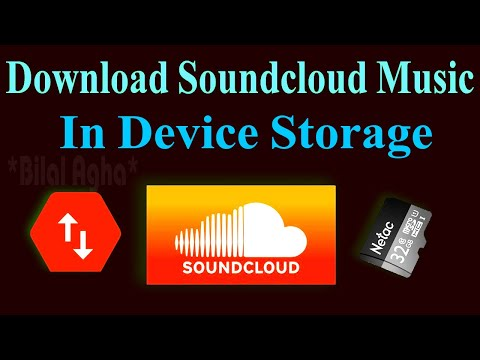 How To Download All Music/Songs From Soundcloud On Android Device/Storage/Sdcard,Free In Urdu/Hindi