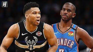 Oklahoma City Thunder vs Milwaukee Bucks - Full Game Highlights | February  28, 2020 NBA Season