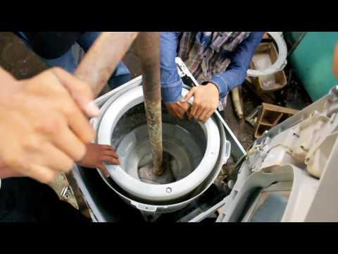 Cara memperbaiki mesin cuci 1 tabung top loading