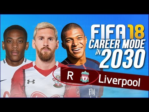 FIFA 18 CAREER MODE IN 2030!!!   THE CRAZIEST CAREER MODE SAVE EVER?!