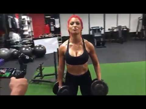 EVA MARIE WORKOUT SESSION