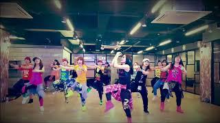 I LOVE ZUMBA Sean Paul, David Guetta - Mad Love (Lyric Video) ft. Becky G Choreo by Shindong