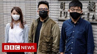 Joshua Wong pleads guilty in Hong Kong trial - BBC News