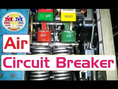 Air circuit breaker operating mechanism introduction and how operate work