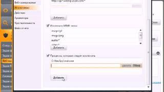 Настройка Avast Internet Security для работы с программой