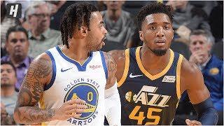 Utah Jazz vs Golden State Warriors - Full Game Highlights | November 11, 2019 | 2019-20 NBA Season