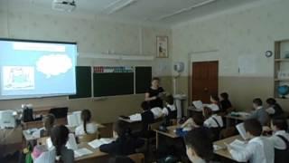 Урок по русскому языку 8 часть