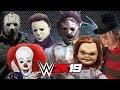 SCARIEST HORROR MOVIE CHARACTERS! | WWE 2K19 Gameplay