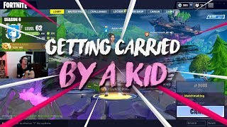 Getting carried by an 8 year old
