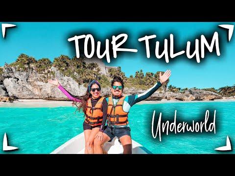 Tour TULUM UNDERWORLD 🔴 TULUM LANCHA, SNORKEL, COMIDA & TRANSPORTE ► CENOTES EN TULUM ✅  Tulum 1 dia