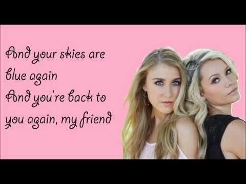 After the Storm Blows Through Lyrics - Maddie & Tae