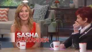 Promo for Sasha Alexander on The Talk 8/7/15