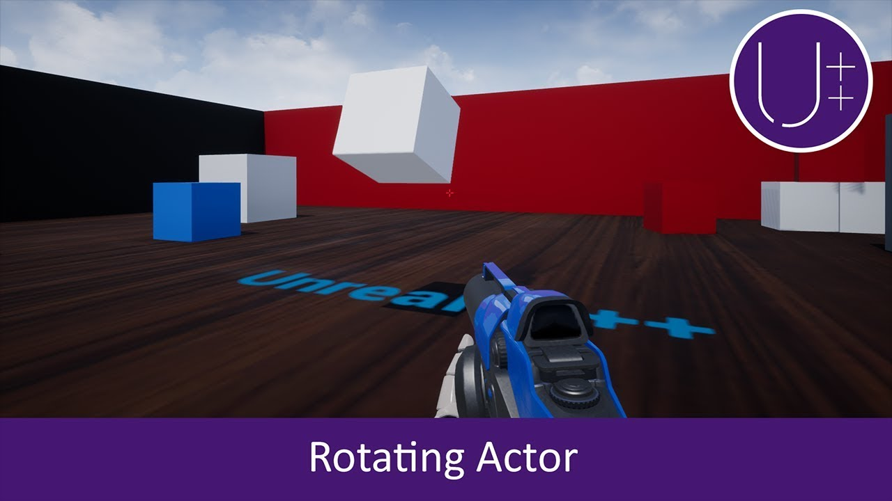 Unreal Engine 4 C++ Tutorial: Rotate an Actor