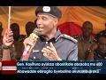 Gen.Kayihura ayisizza abasirikale abasoba mu 600