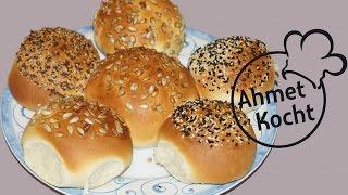 Rezept: Sonntagsbrötchen | AhmetKocht | backen | Folge 142