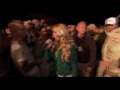 Jessica Simpson Live from Kuwait Pt. 3 - Take My Breath Away