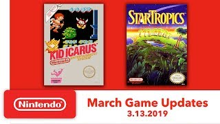 Nintendo Entertainment System   March Game Updates   Nintendo Switch Online