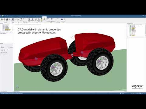 Designing a terrain vehicle using AGX Unity