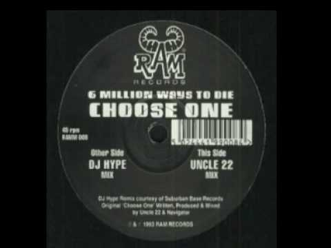 Uncle 22 - 6 Million Ways To Die (DJ Hype Remix) RAMM08