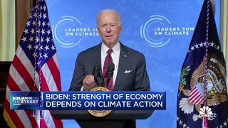 President Joe Biden: Strength of economy depends on climate action